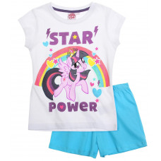 Letné pyžamo My Little Pony bielo-modré