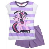 Letné pyžamo My Little Pony fialové