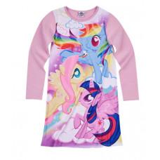 Dievčenská nočná košeľa My little pony fialová