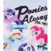 Dievčenské tričko My Little Pony biele