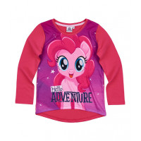 Dlhé dievčenské tričko My Little Pony fuchsia