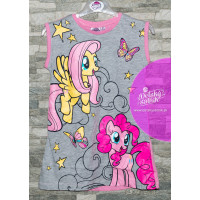 Dievčenská letná nočná košeľa My little pony ružová