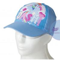 Dievčenská bledo-modrá šiltovka Môj malý pony