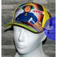 Chlapčenská šiltovka Požiarnik Sam žltá