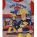 Chlapčenské pyžamo dlhé Požiarnik Sam červeno-modré