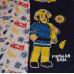 Chlapčenské pyžamo dlhé Požiarnik Sam tmavo modré
