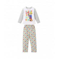Dlhé pyžamo chlapčenské Požiarnik Sam biele č. 92,98