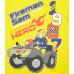 Chlapčenské pyžamo letné Požiarnik Sam žlté