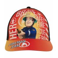 Chlapčenská šiltovka Požiarnik Sam oranžová