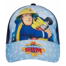 Chlapčenská šiltovka Požiarnik Sam modrá