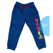 Chlapčenské joggingové tepláky Požiarnik Sam modré 116
