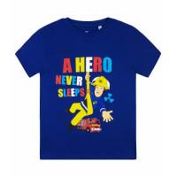 Požiarnik Sam letné modré tričko