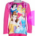 Dievčenské dlhé tričko Disney Princess ružové