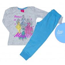 Disney Princess dlhé pyžamo modré