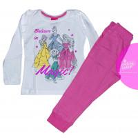 Disney Princess dlhé pyžamo ružové