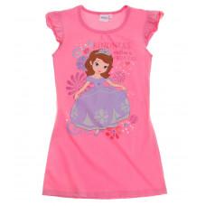 Letná nočná košeľa Disney Sofia fuchsia