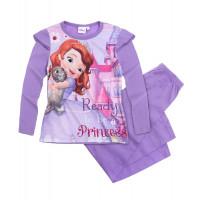 Pyžamo dievčenské Disney Sofia fialové