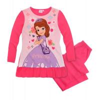 Pyžamo dievčenské Disney Sofia ružové