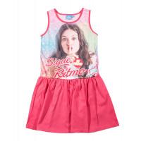 Letné dievčenské šaty Disney Soy Luna fuchsia