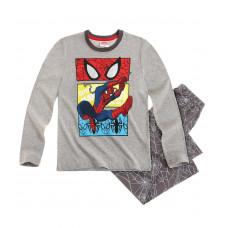 Pyžamo Spiderman s dlhým rukávom šedé