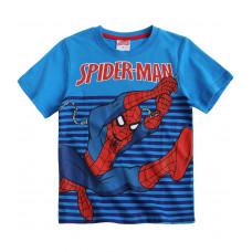 Chlapčenské tričko Spiderman s krátkym rukávom modré