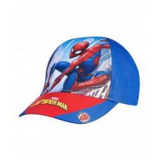 Chlapčenská šiltovka Spiderman modrá