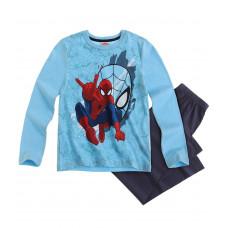 Pyžamo Spiderman s dlhým rukávom modré