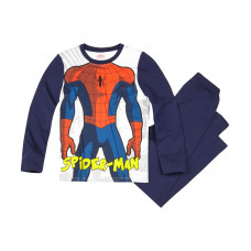 Pyžamo Spiderman s dlhým rukávom tmavo modré