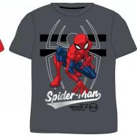 Chlapčenské letné tričko Spiderman tmavé