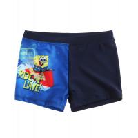 Chlapčenské plavky Spongebob tmavé