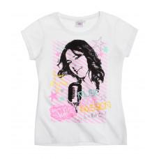 Dievčenské tričko Disney Violetta biele