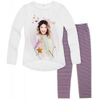 Dievčenský set tričko s legínami Disney Violetta